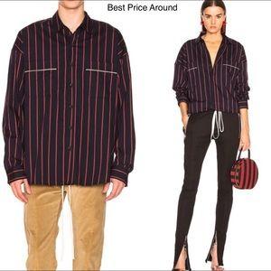 Fear of God Button Down Silk Shirt